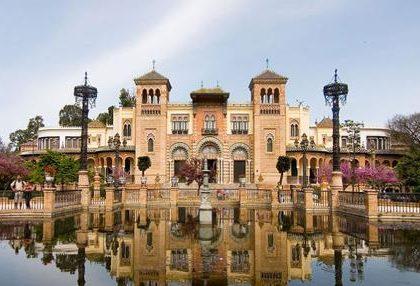 Ruta en moto. Museo arqueológico de Sevilla