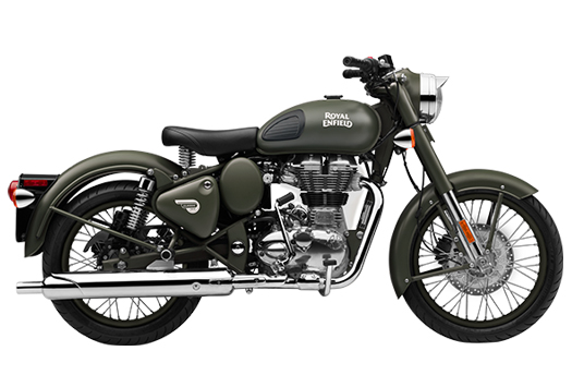 Royal Enfield – Battle Green 500