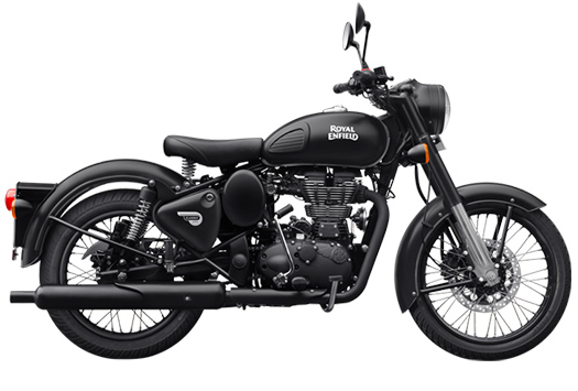 Royal Enfield – Stealth Black 500