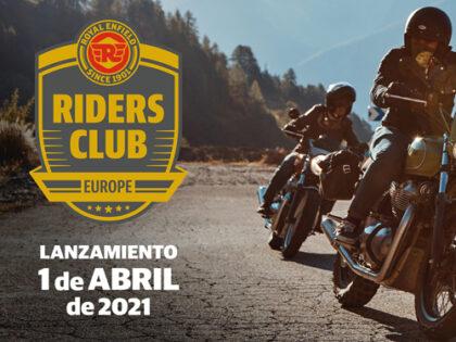 Royal Enfield presenta el Riders Club of Europe